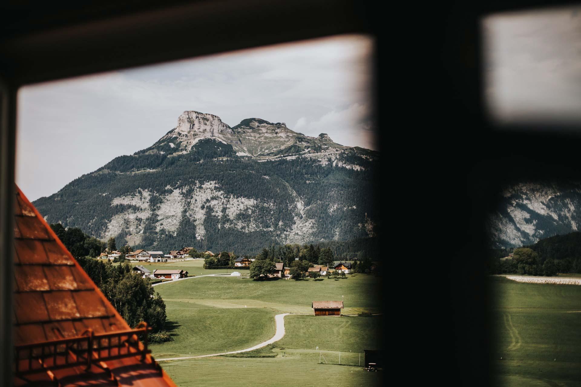 Der Dachstein in Bad Aussee