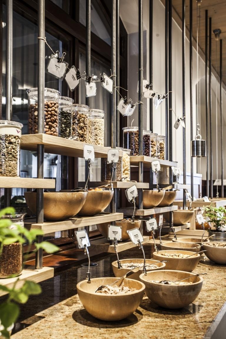 Frühstücksbuffet in der Wasnerin in Bad Aussee