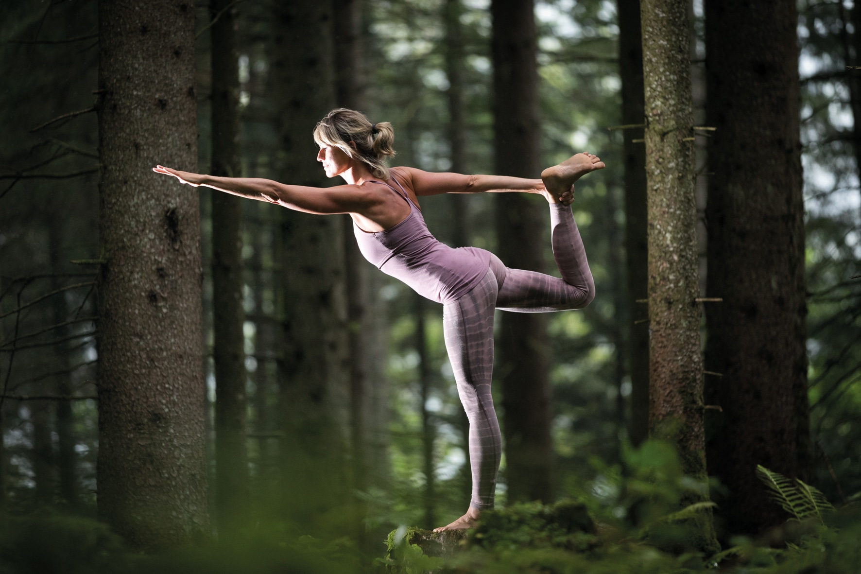 Yoga inmitten der Natur
