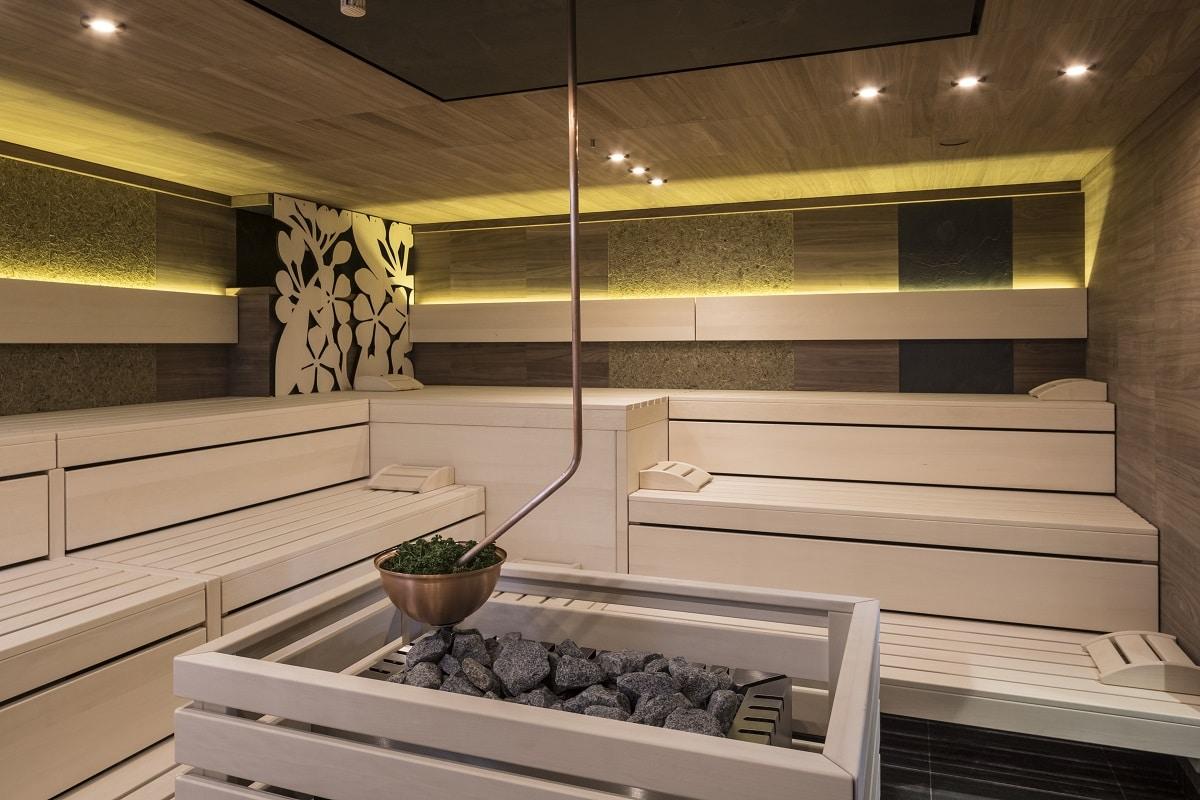 Sauna im G´sund und Natur Hotel in Bad Aussee