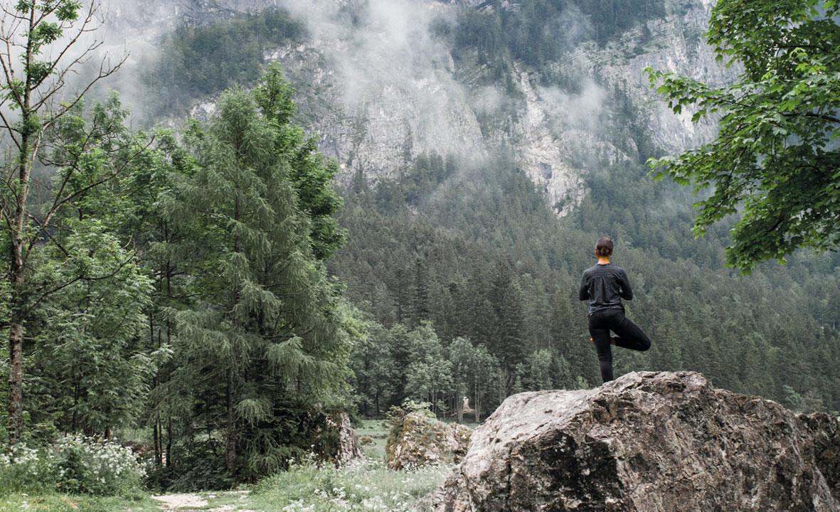 Yoga inmitten der Natur in Bad Aussee