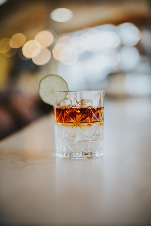 Gin in der Herzstück. die Bar in der Wasnerin